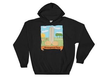 Morningwood Farm Funny Hooded Sweatshirt