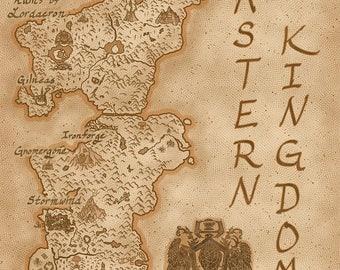 Eastern Kingdoms Map