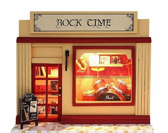 Doll House Room Diy Music Shop Build it Yourself