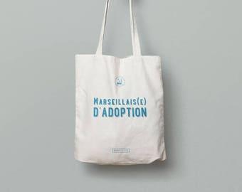 Tote Bag fabric. OM-adoption