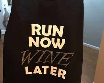 Women's Raceback Run Now Wine Later