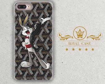 Bugs Bunny, iPhone 7 Plus case, iPhone 8 Case, iPhone 7 case, iPhone 6S Case, iPhone 6S Plus Case, iPhone 8 Case, iPhone 8 Plus Case, 157