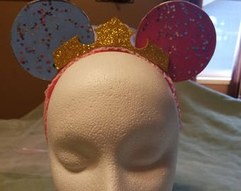 Preincess Aurora inspired toddler ears