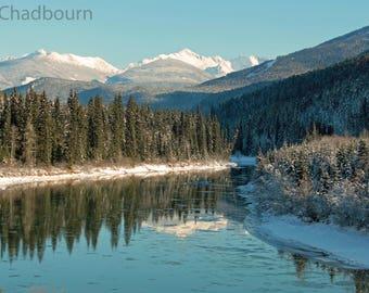 Fraser River Photo Print