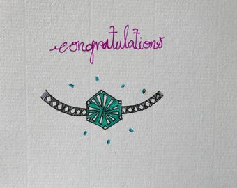 Engagement Card | Congratulations on your engagement