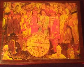 The Beatles Sgt. Pepper's Lonely Hearts Club Band puzzle