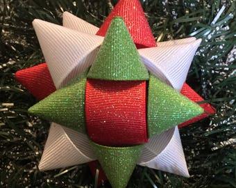 Christmas Gift Bow Hair bow