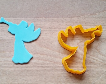 Angel with Trumpet Cookie Cutter