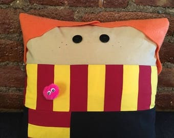 Ginny Weasley, Gryffindor, Harry Potter, Witch, Decorative, Throw Pillow