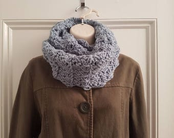 Blue Lacey Cowl