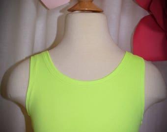 Girl Top Neon