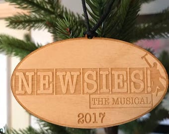 Broadway Wood Ornament