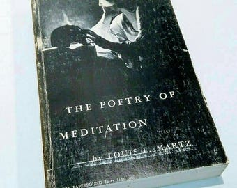 The Poetry of Meditation 1962 Louis L. Martz PB Revised Edition Vintage Paperback Book