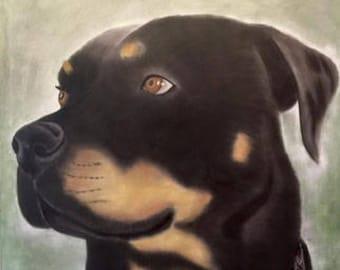 Tosca Original Painting on Canvas 120x100 cm  Original Painting on Canvas