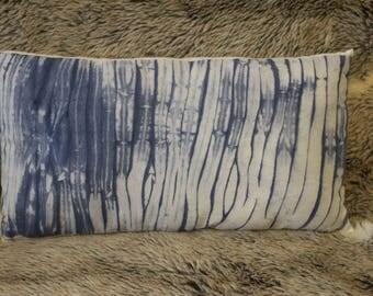 Arashi Shibori Cushion