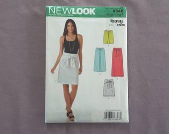 New Look 6348 Ladies Sewing Skirt Pattern Uncut US Size 10-22