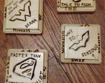 Justice League coasters