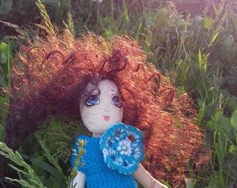 """Textile doll """"Agatha"""""""