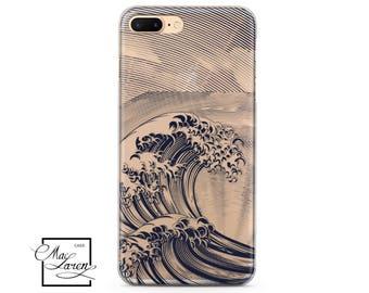 Kanagawa wave iPhone 8 Case Samsung S7 Edge Case Wave iphone 6s plus case Samsung S8 plus case iPohne 5S SE Case Samsung S6 edge Plus  81