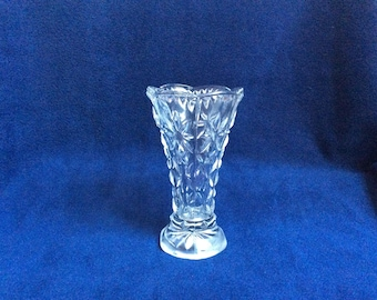 Glass Bud Vase. Glass Vase.