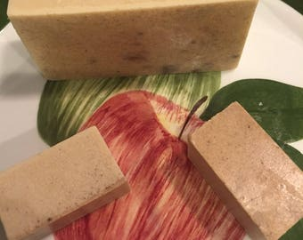 Apple Pie Oatmeal Soap Bar
