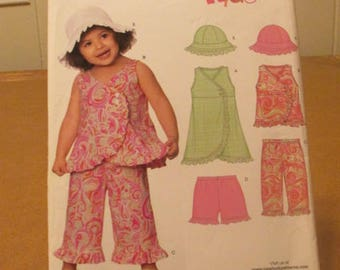 Sewing Pattern New Look Kids Toddlers