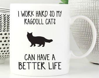 Ragdoll Cats Mug, Ragdoll Cats Cat, Cat Mug, Cat Lover Gift, Coffee Mug, Cat Coffee Mug, Funny Cat Mug, Cat Gift, Cute Cat Mug