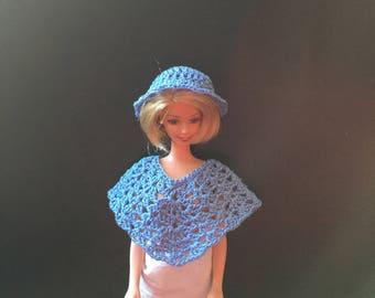 Barbie Hat & Poncho