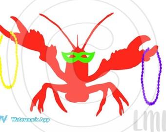 Mardi Gras Crawfish Mardi Gras shirt