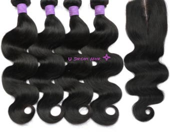 www.udreamhair.com     Virgin Hair Bundles, Brazilian Body Wave