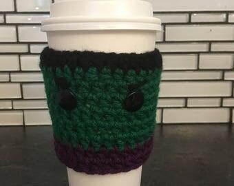Hulk cup cozy