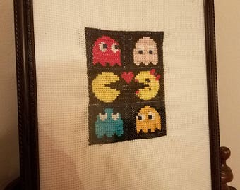 Video Game Love - Cross Stitch
