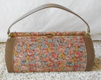 Vintage 1950s 1960s Life Stride Mar-shel Fine Handbag, Penco Manufacturing Co, Vintage Purse, Vintage Handbag, Tapestry Purse, Life Stride
