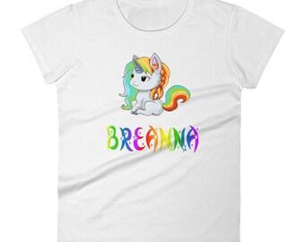 Breanna Unicorn Ladies T-Shirt