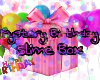 Mystery Birthday Slime Box