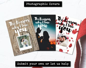 Personalised Relationship Book - The Reasons Why I Love You (Photo Edition)
