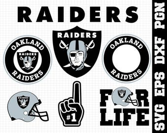 Oakland Raiders Nfl,SVG File-png,dxf,eps,nfl svg,SVG File for Cameo,Cricut & other electronic cutters Silhouette Cut Files, Cricut Cut Files