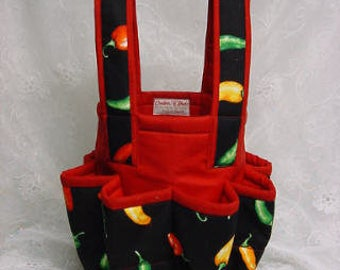 Fashion Lucky  Chilies Tote Bag