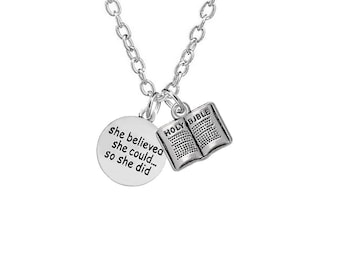 Graduation pendant necklace class of 2018 collection