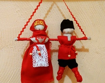 "The Dolls ""Nerazluchniki"" Russian wedding amulet"