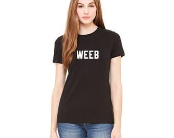 Weeb Womens T shirt