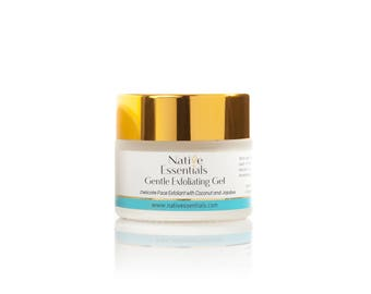 Gentle Coconut Face Polish - made with organics