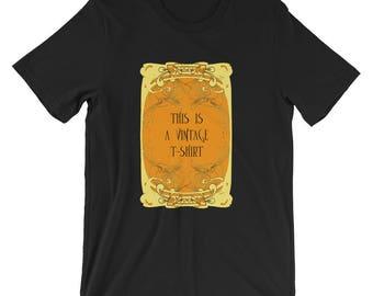 Art nouveau vintage Short-Sleeve Unisex T-Shirt