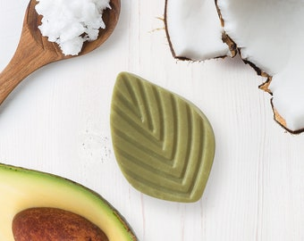 Revitalizing solid - avocado butter and monoi