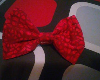 5 inch red bow