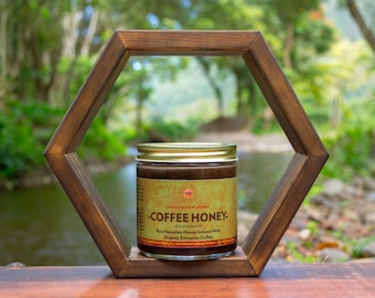 Coffee Honey - Raw Hawaiian Honey Infused With Organic Ethiopian Coffee