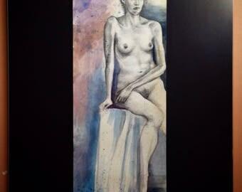 Blue&purple Nude