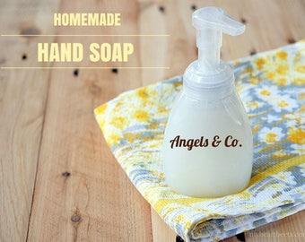 Natural Liquid Hand Soap