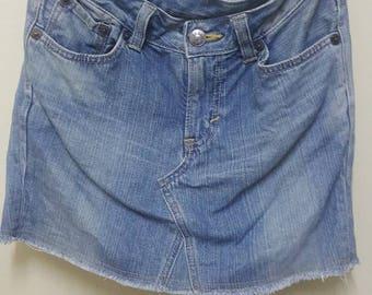 Vintage Edwin Japanese blue skirt jeans