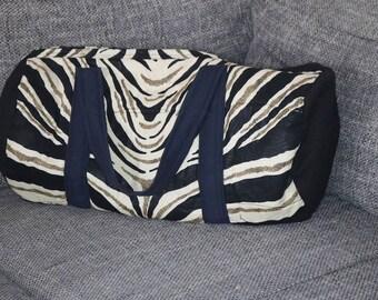 Ankara Duffel Bag   African Print Duffel Bag   Overnight Bag   Barrel bag   Gym bag